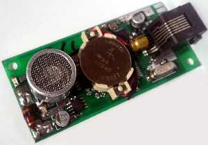 ultrasonic RFID position receiver with sio